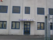 Serramenti in alluminio per capannoni industriali SOGEC SRL