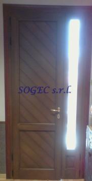 Portoncino d'ingresso in alluminio SOGEC SRL