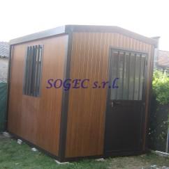 casetta da giardino senza sporgenza SOGEC SRL